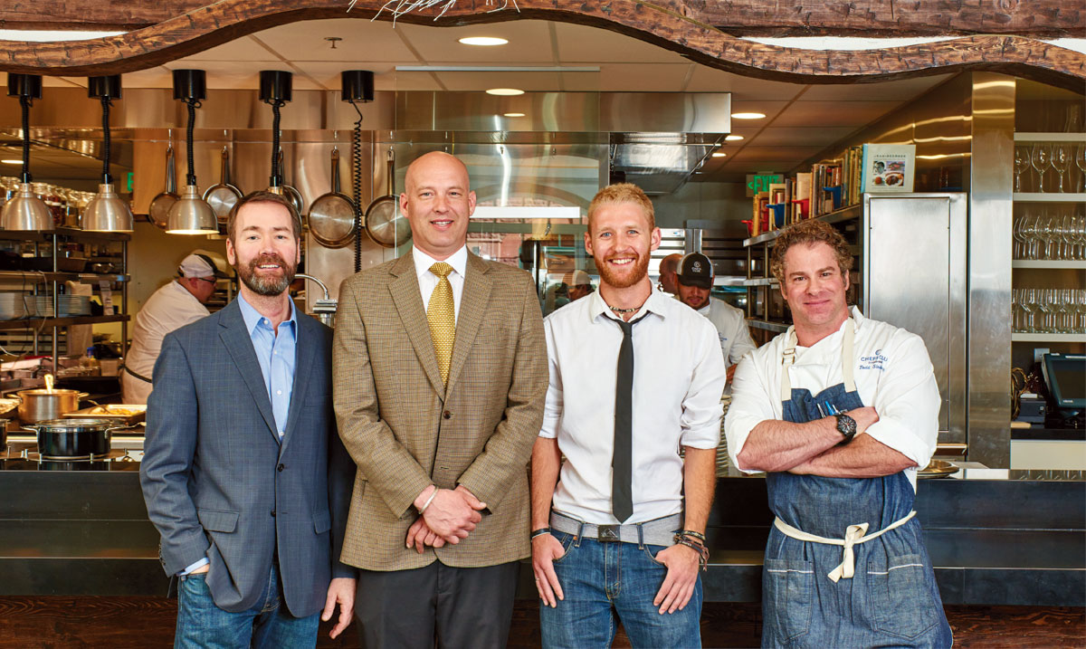 Chefs Club in the St  Regis Aspen Celebrates Threes Years