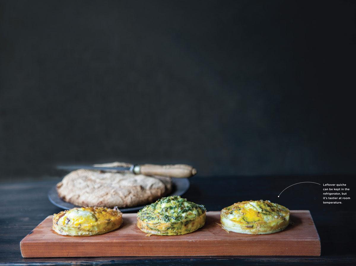 Kale and Feta Quiche   Edible Aspen