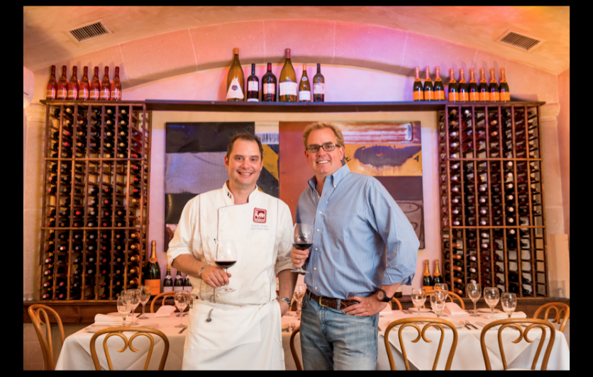 Rustique Bistro's Chef Tico Starr and founder Rob Ittner