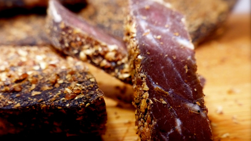 Biltong is ideal for on-the-go snacking