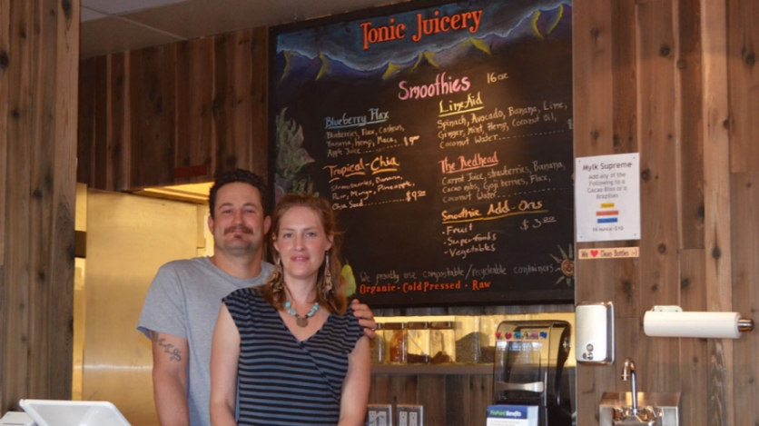 Micah and Lindsay Mills of Tonic Juicery