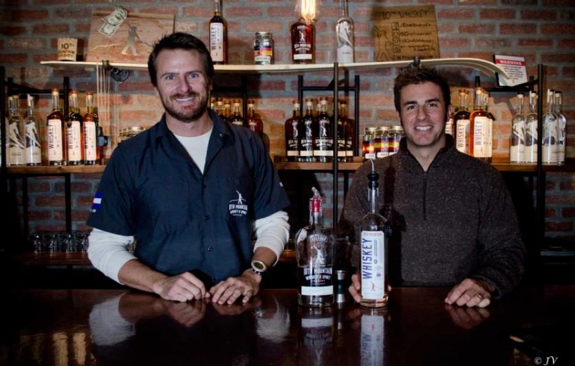 Ryan Thompson & Christian Avignon of 10th Mountain Whiskey & Spirits Company
