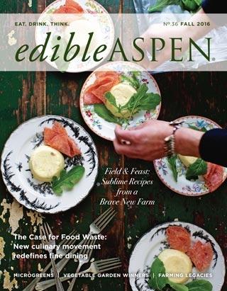 edible Aspen Fall 2016 cover
