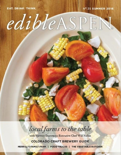 Edible Aspen Summer 2016 cover