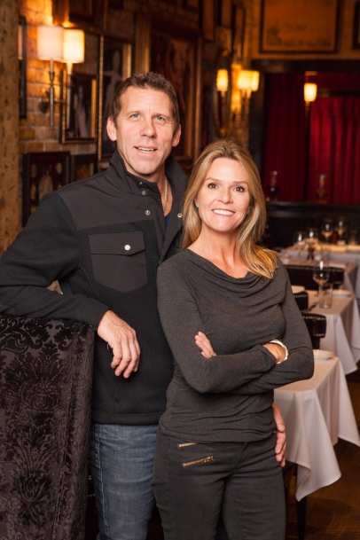 Restaurateurs Craig and Samantha Cordts-Pearce