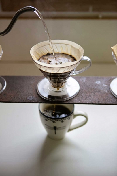 Rock Canyon Coffee Roasters' pour over