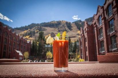 St. Regis Aspen's famed Bloody Mary