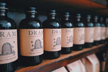 DRAM Apothecary's bottles of bitters