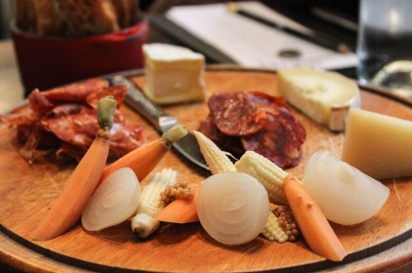 The Nickel cheese and charcuterie board