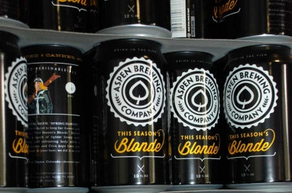 Aspen Brewing Co. canned beer