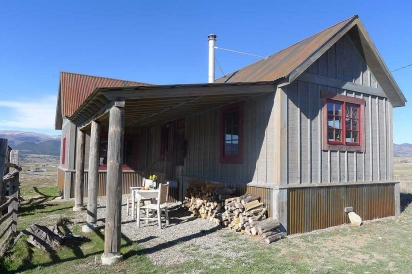 Guest cabins at Avalanche dairy farm in Paonia, CO