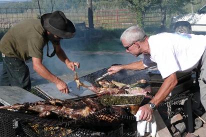 Jose Miranda & Chef Mark Fischer at Sustainable Settings
