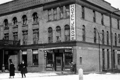Hotel Jerome, Aspen, Circa 1910.