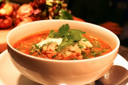 Red Chile Posole Soup