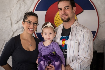 Anne and Aaron Badolato of Sweet ColoraDough