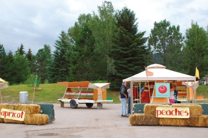 Buttermilk Fruit Stand in Palisade
