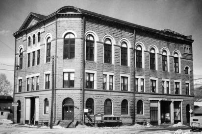 The Wheeler Opera House, Aspen, 1950