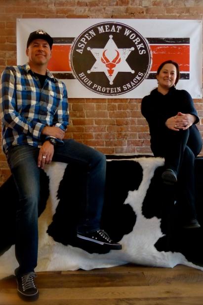 Craig Hart and Christina Kruger of Aspen Meat Works