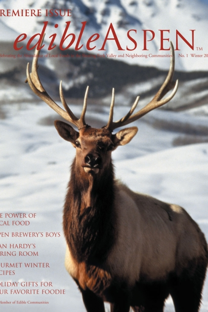 Edible Aspen Issue 1, Winter 2008 Cover