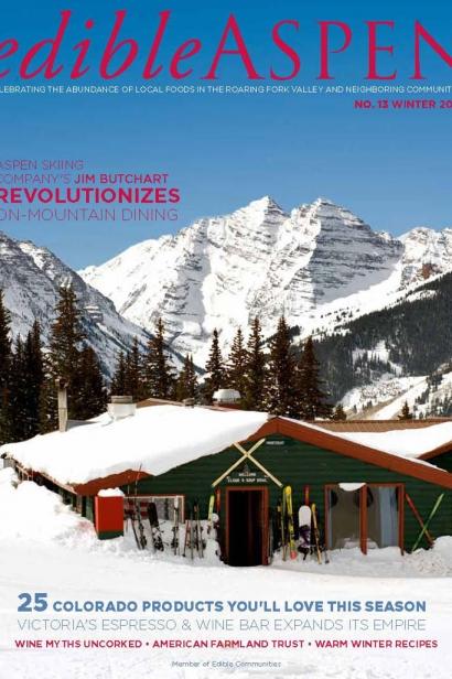 Edible Aspen Issue 13, Winter 2011 Cover