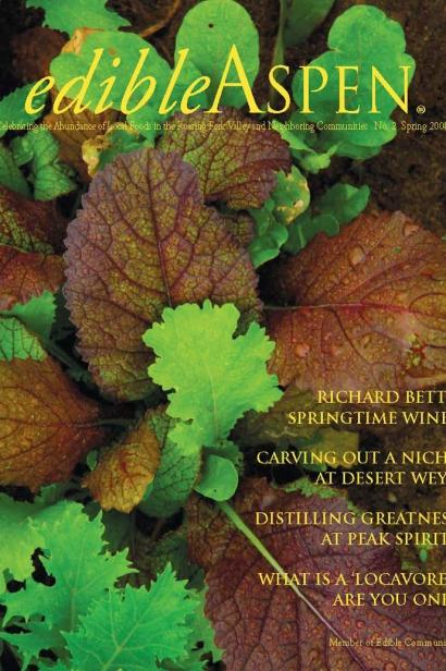 Edible Aspen Issue 2, Spring 2008 Cover