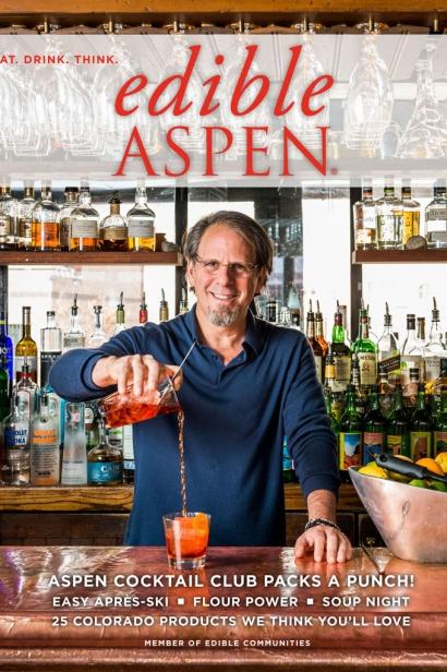 Edible Aspen Issue 25, Winter 2014 Cover