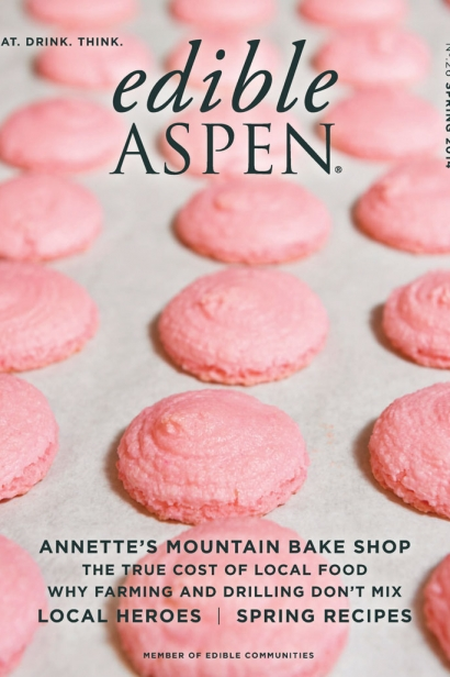 Edible Aspen Issue 26, Spring 2014 Cover