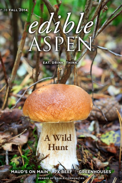 Edible Aspen Issue 28, Fall 2014 Cover