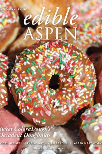 Edible Aspen Issue 30, Spring 2015 Cover