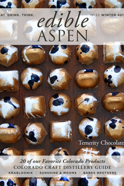 Edible Aspen Issue 33, Winter 2016 Cover