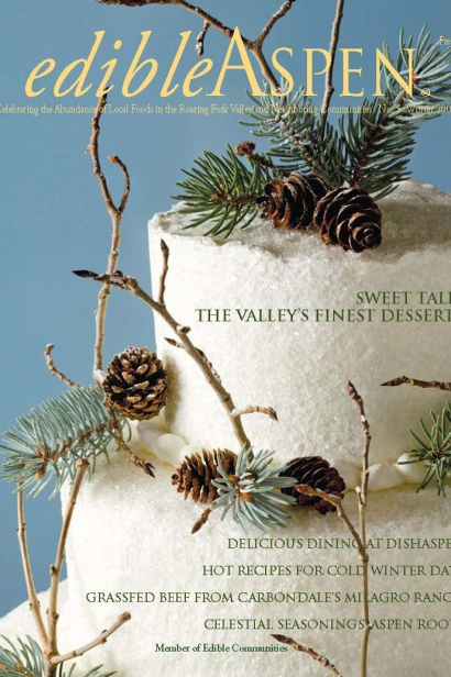 Edible Aspen Issue 5, Winter 2009 Cover