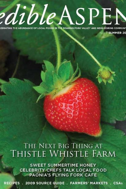 Edible Aspen Issue 7, Summer 2009 Cover