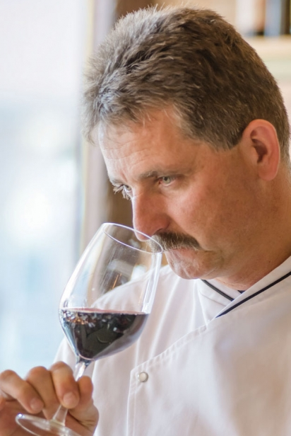 Andreas Fischbacher, chef at Allegria Restaurant