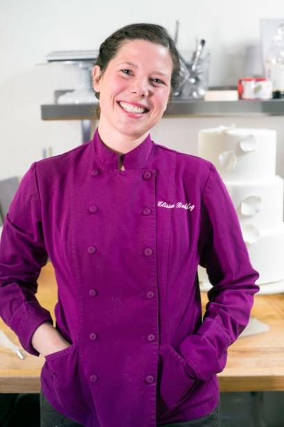 Elissa Buckley of d'Elissious Cake Studio