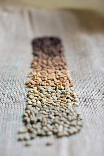 Coffee Beans from Rock Canyon Coffee Roasters, Basalt, CO