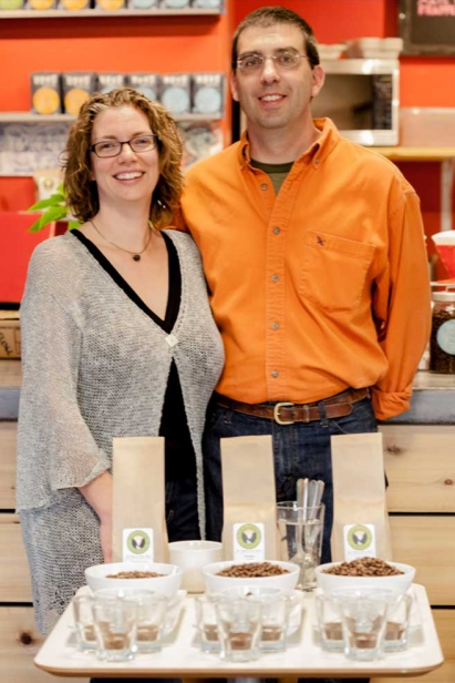 Heidi Johnson and Craig Fulmer founded the Carbondale-based Rock Canyon Coffee in 2012