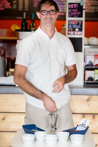 Jeff Hollenbaugh co-founded the Glenwood Springs–based Defiant Bean Roasters