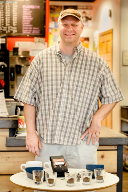 John Rose is the godfather of Roaring Fork Valley coffee roasting, joined ink! Coffee in 1998
