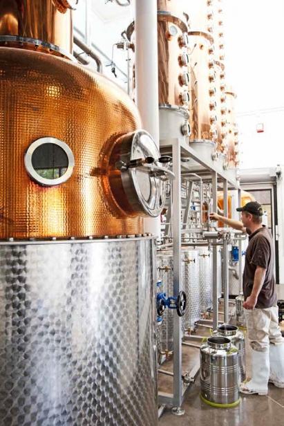 custom-made Carl Distilling equipment