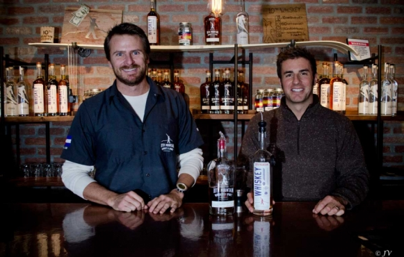 Ryan Thompson & Christian Avignon of 10th Mountain Whiskey & Spirits Company
